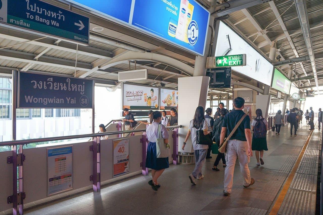 Du lịch Thái Lan với chính sách mới cho thẻ Rabbit và Bangkok Train Sky 4