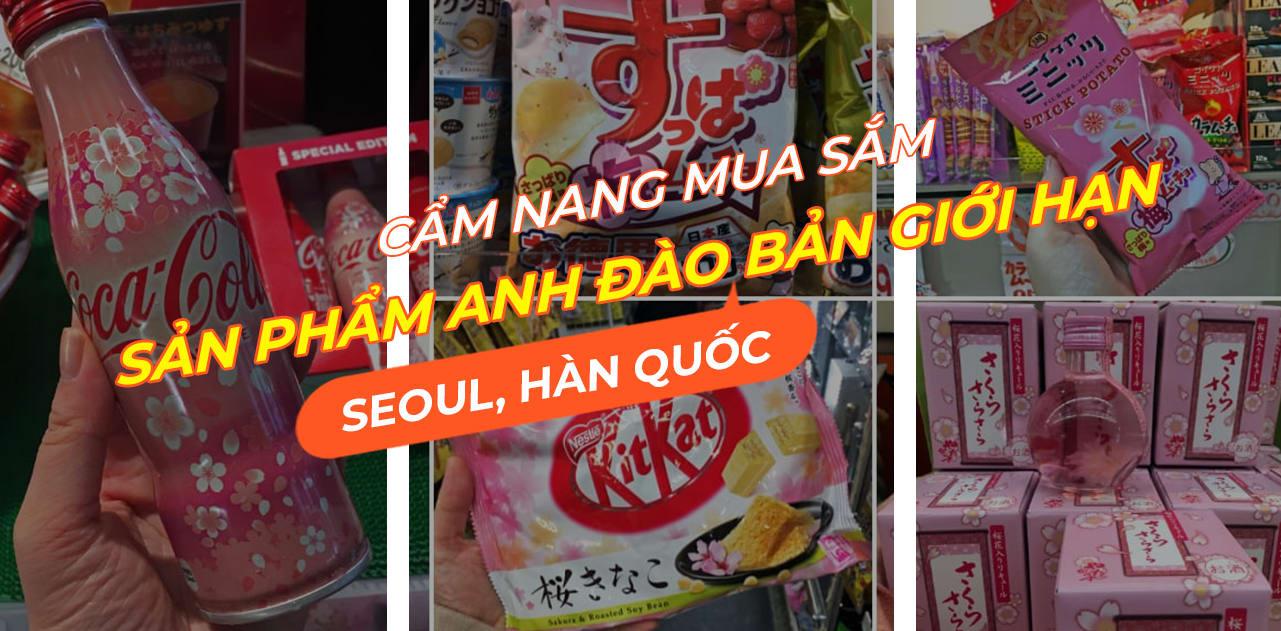 Cẩm nang mua sắm Hàn Quốc những sản phẩm Hoa Anh Đào phiên bản giới hạn 1