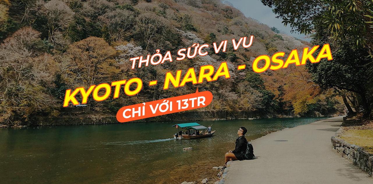 Lịch trình khám phá hết Kyoto, Osaka và Nara chỉ với 13tr! 1
