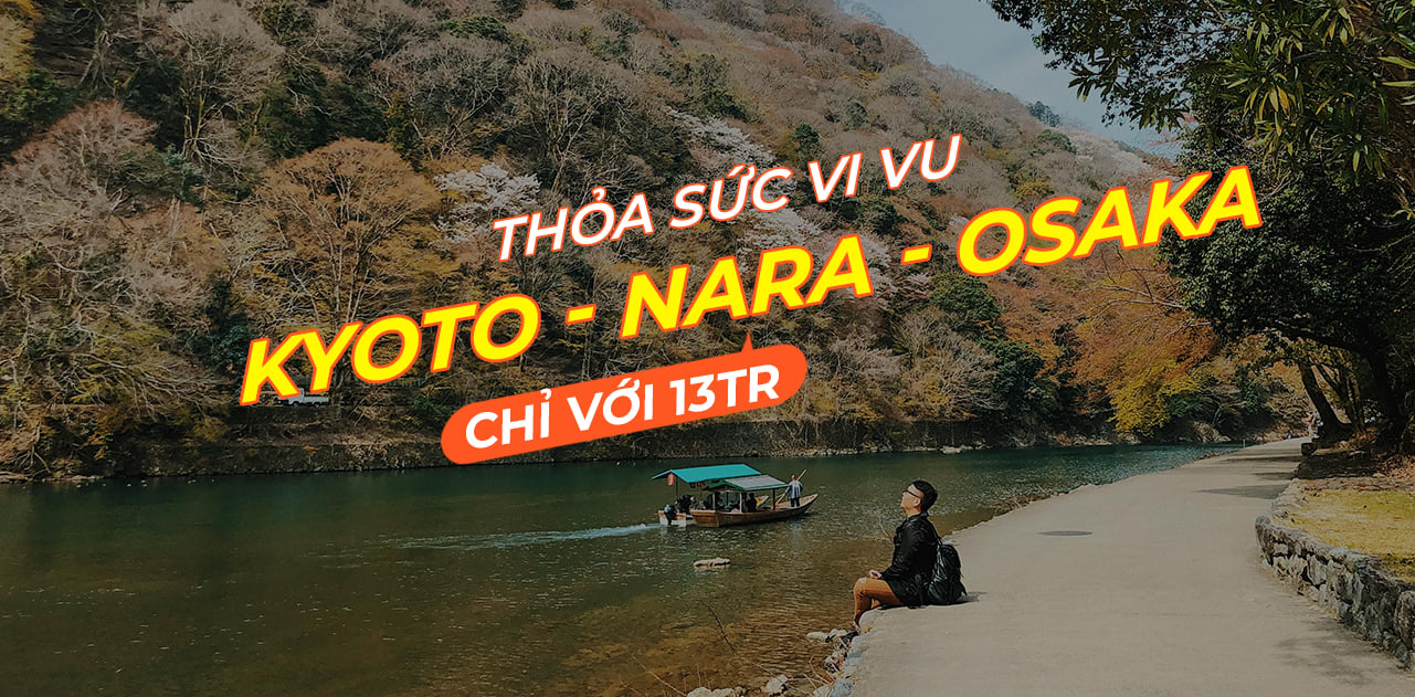 theo chan team cuong di het kyoto osaka va nara chi voi 13tr cover
