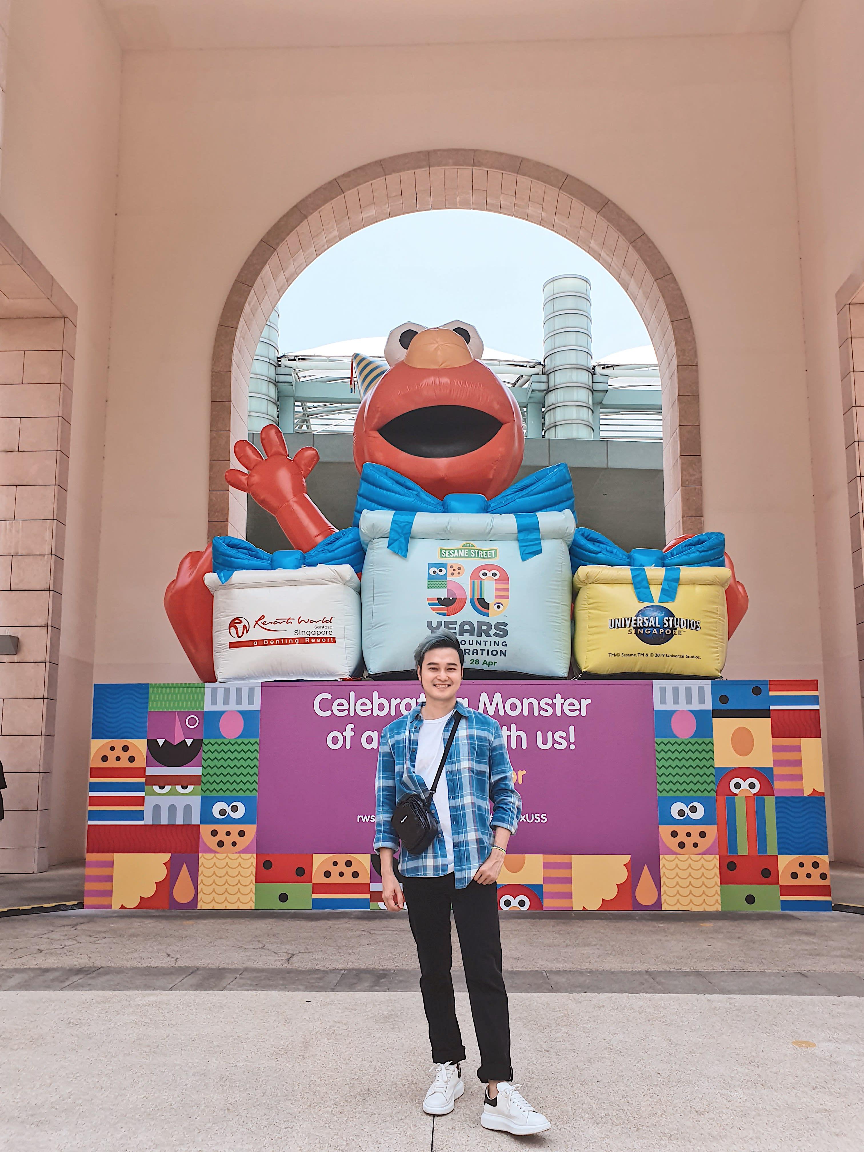 Trải nghiệm vui bất tận tại Universal Studios Singapore cùng Quang Vinh 4