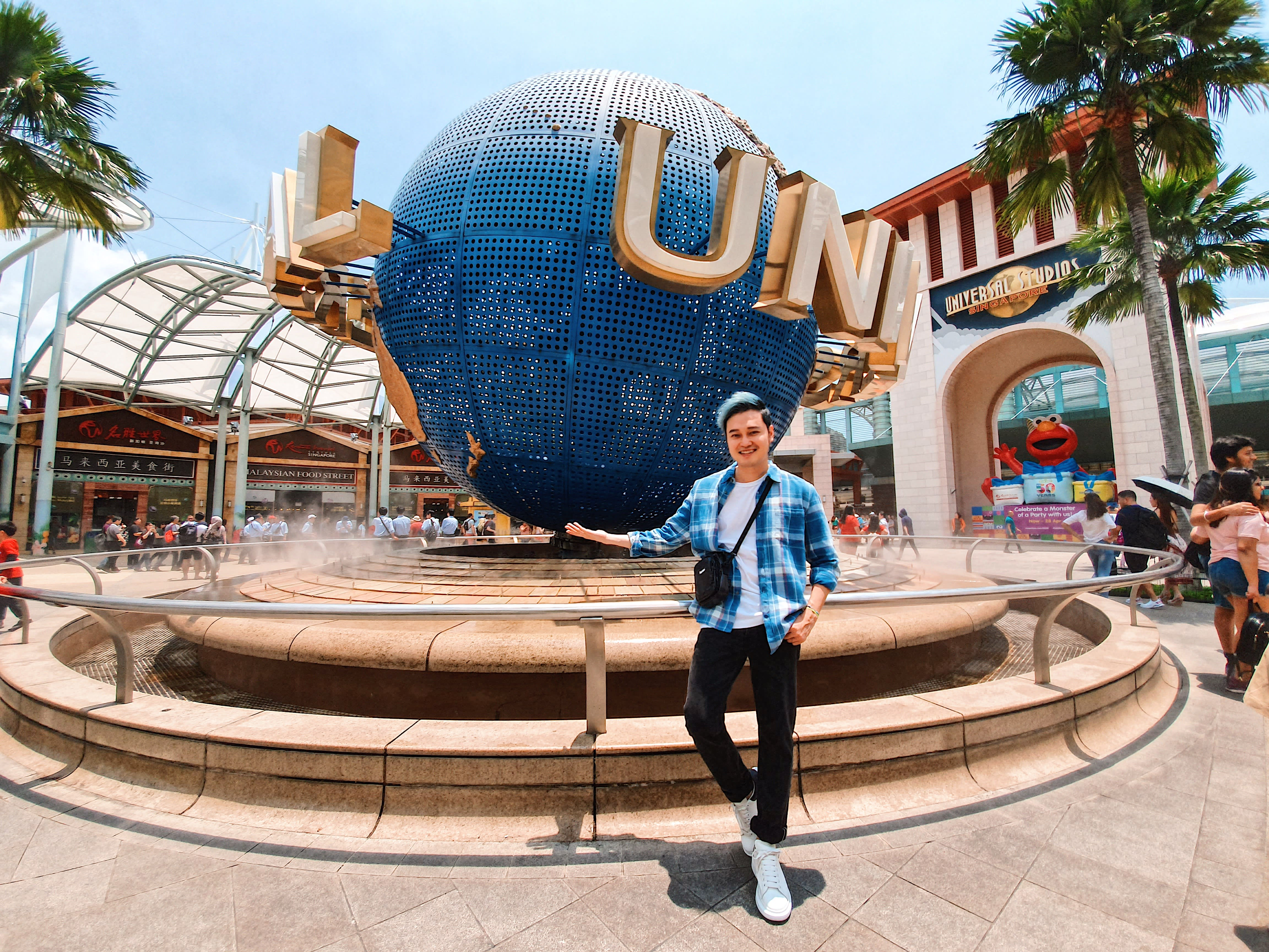 Trải nghiệm vui bất tận tại Universal Studios Singapore cùng Quang Vinh 3