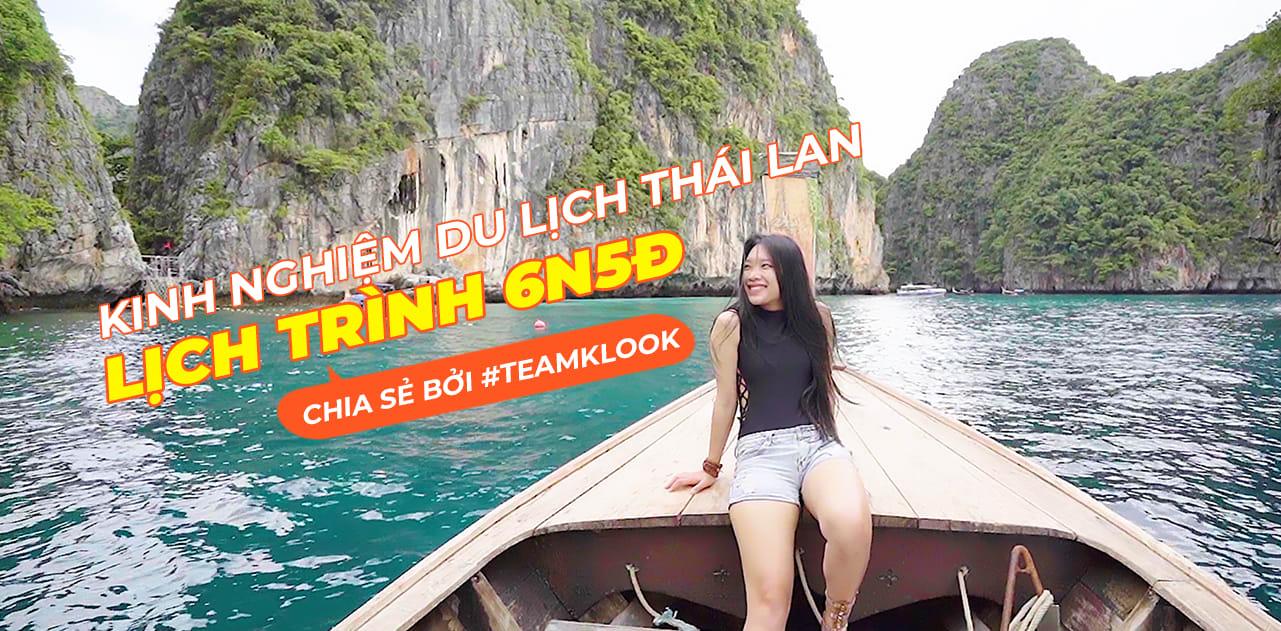 """Lịch trình 6N5Đ """"oanh tạc"""" Thái Lan: Bangkok – Hua Hin – Phuket – Koh Phi Phi 1"""