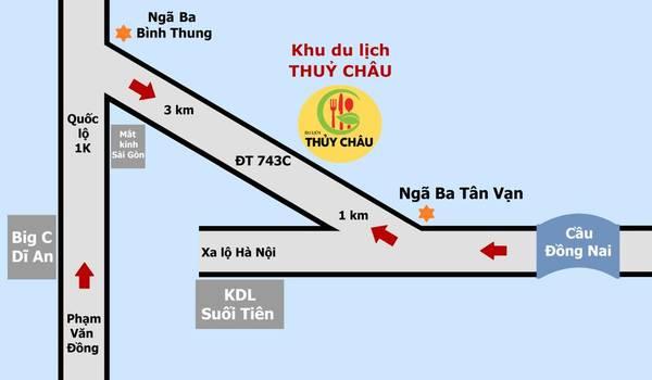Tìm hiểu về phương tiện di chuyển, chơi gì, ăn gì, xem gì  ở Khu du lịch Thủy Châu, Bình Dương 3