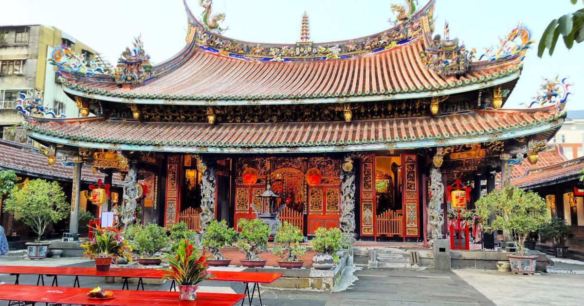 đền bảo an là địa điểm thú vị trong chuyến khám phá trọn đài loan