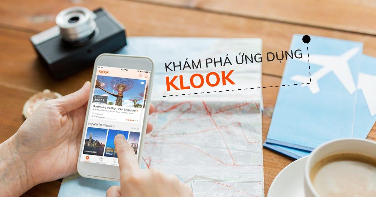 kham pha app klook