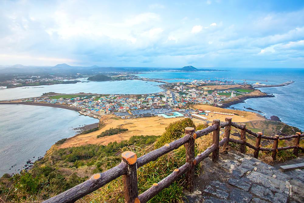S Korea Jeju Jeju Do Beach copy