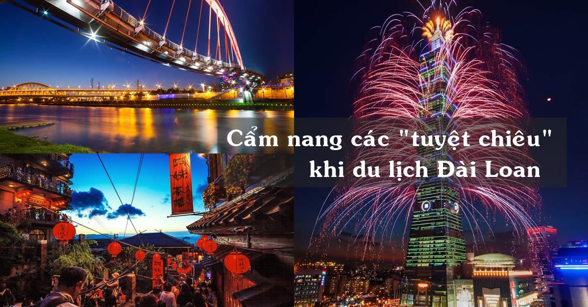 """Cẩm Nang Các """"Tuyệt Chiêu"""" Khi Du Lịch Đài Loan Của Klook 1"""