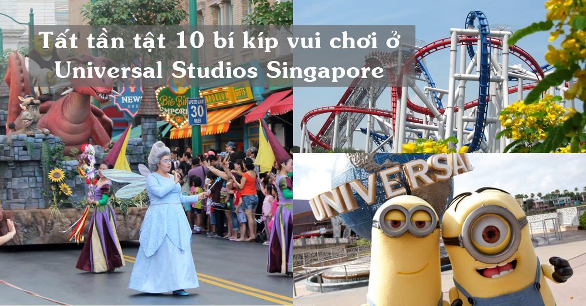Du lịch tự túc Singapore: Tất tần tật 10 bí kíp vui chơi ở Universal Studios Singapore 1
