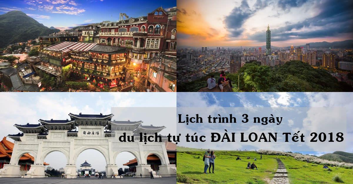 Lịch trình 3 ngày khám phá trọn Đài Loan 1