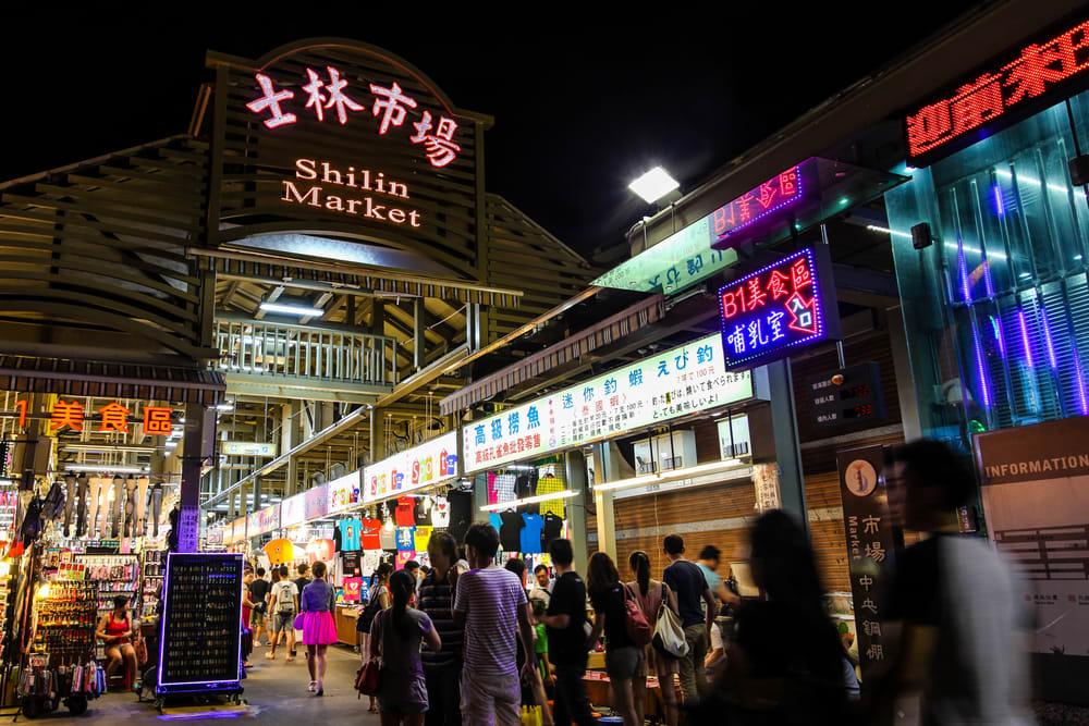 trải nghiệm chợ đêm shilin khi khám phá đài bắc