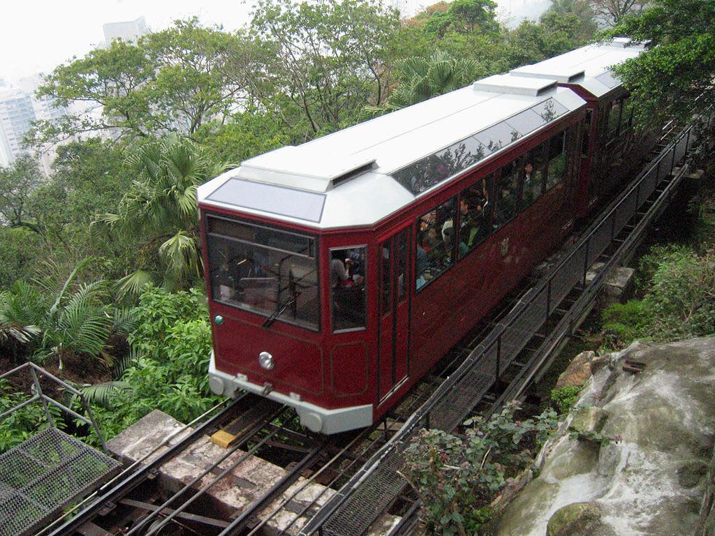 HK Peak Tram. Photo Credit: Jon Parise