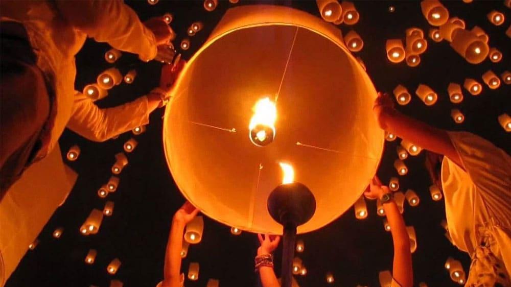 Taipei pingxi lantern festival
