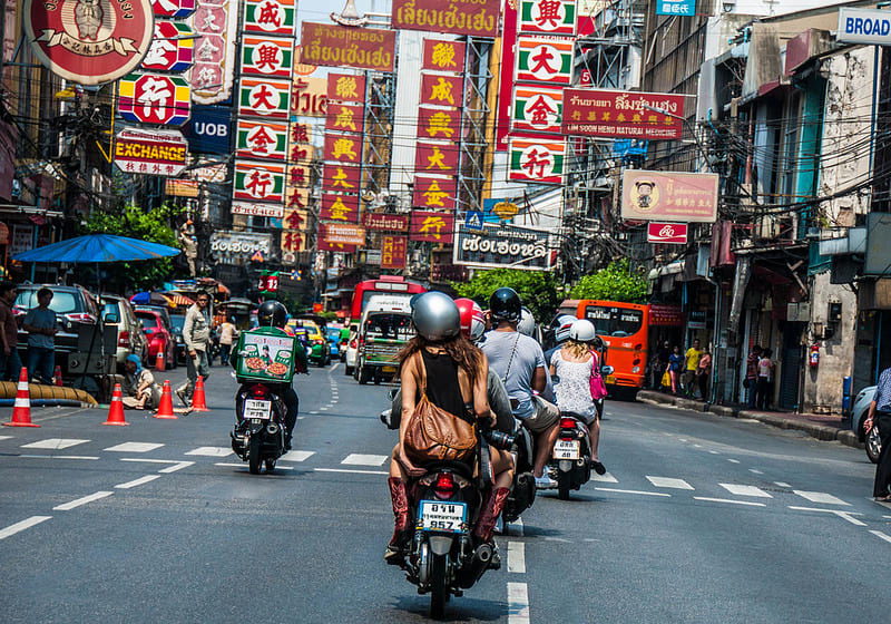 Bangkok Scooter Tour
