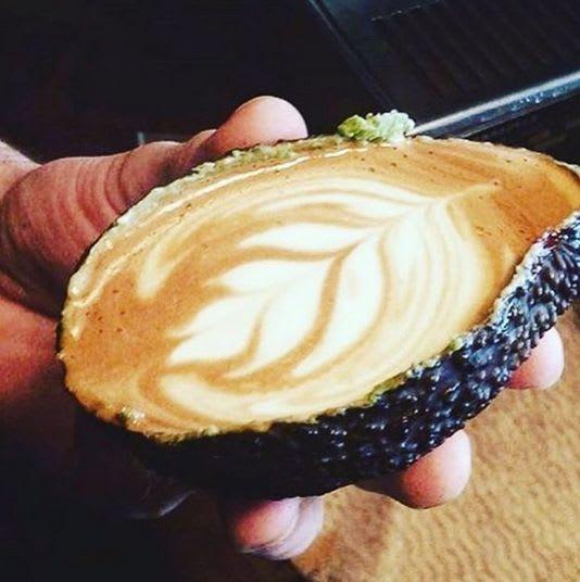 avocado latte