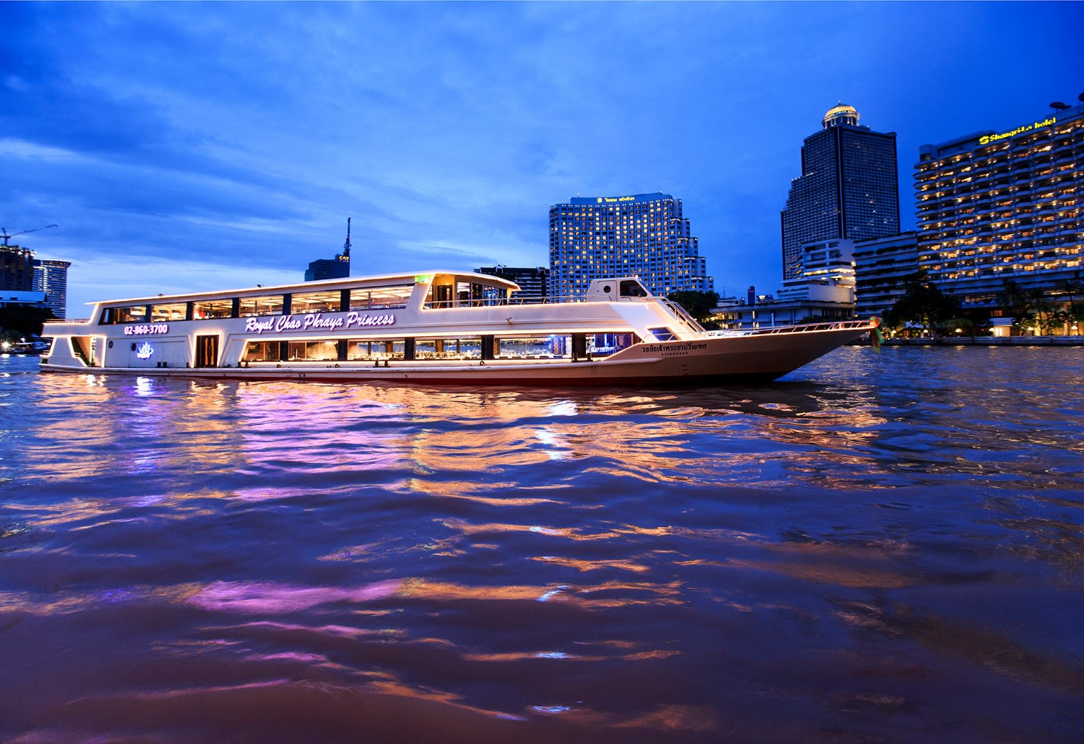 Cruise the Chap Phraya River