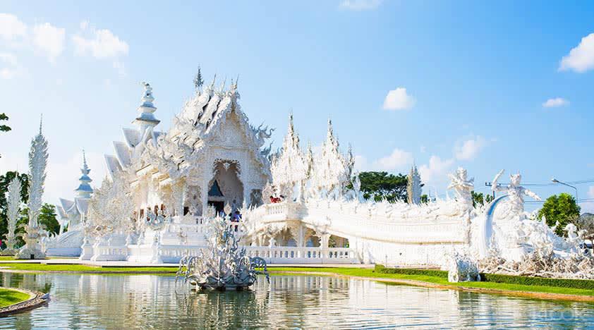 Disney Thailand White Temple