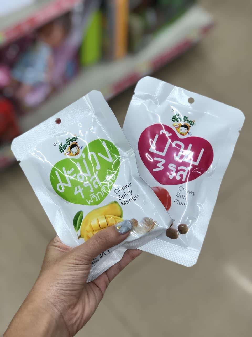 bangkok 7-11 preserved fruit snack