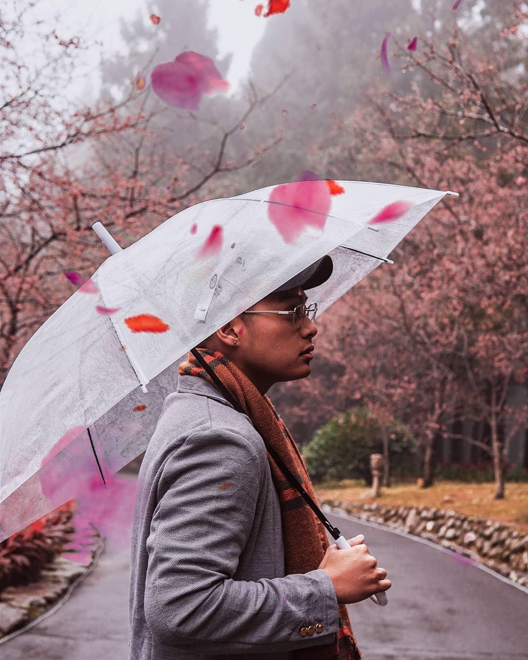 Cherry Blossom formosan village aborigène
