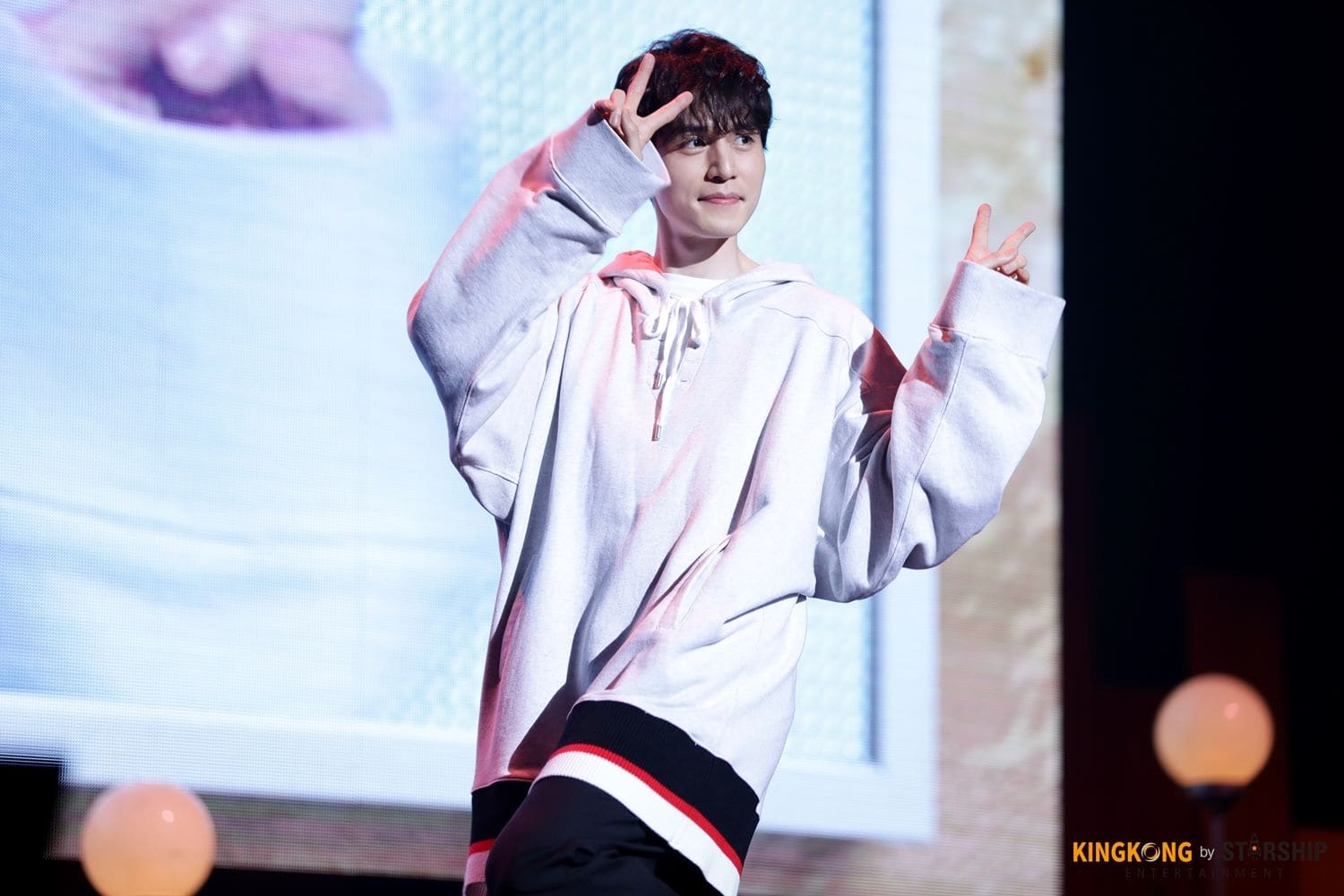 Lee Dong Wook at a fanmeet