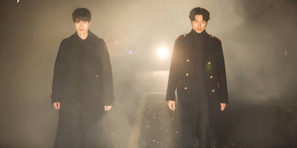 Lee Dong Wook and Gong Yoo in Goblin