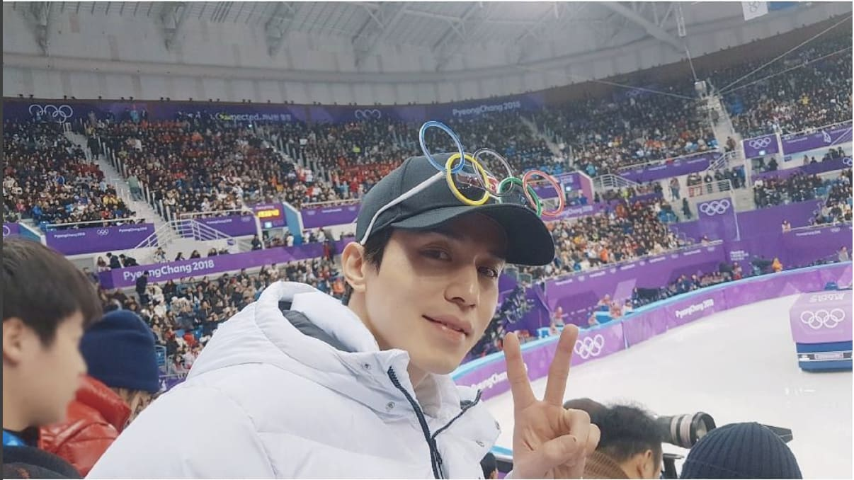 Lee Dong Wook at the 2018 Winter Olympics