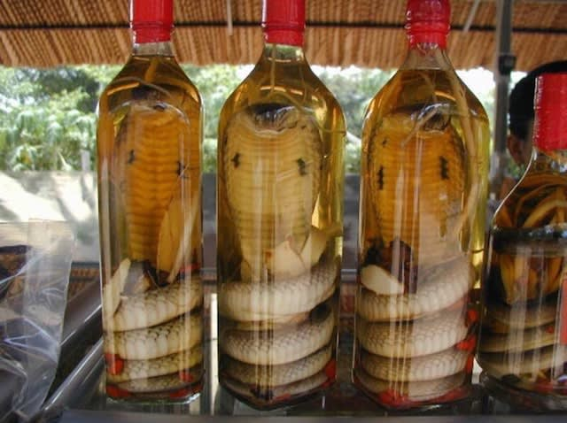 Cobra Snake Brewed Snake Wine