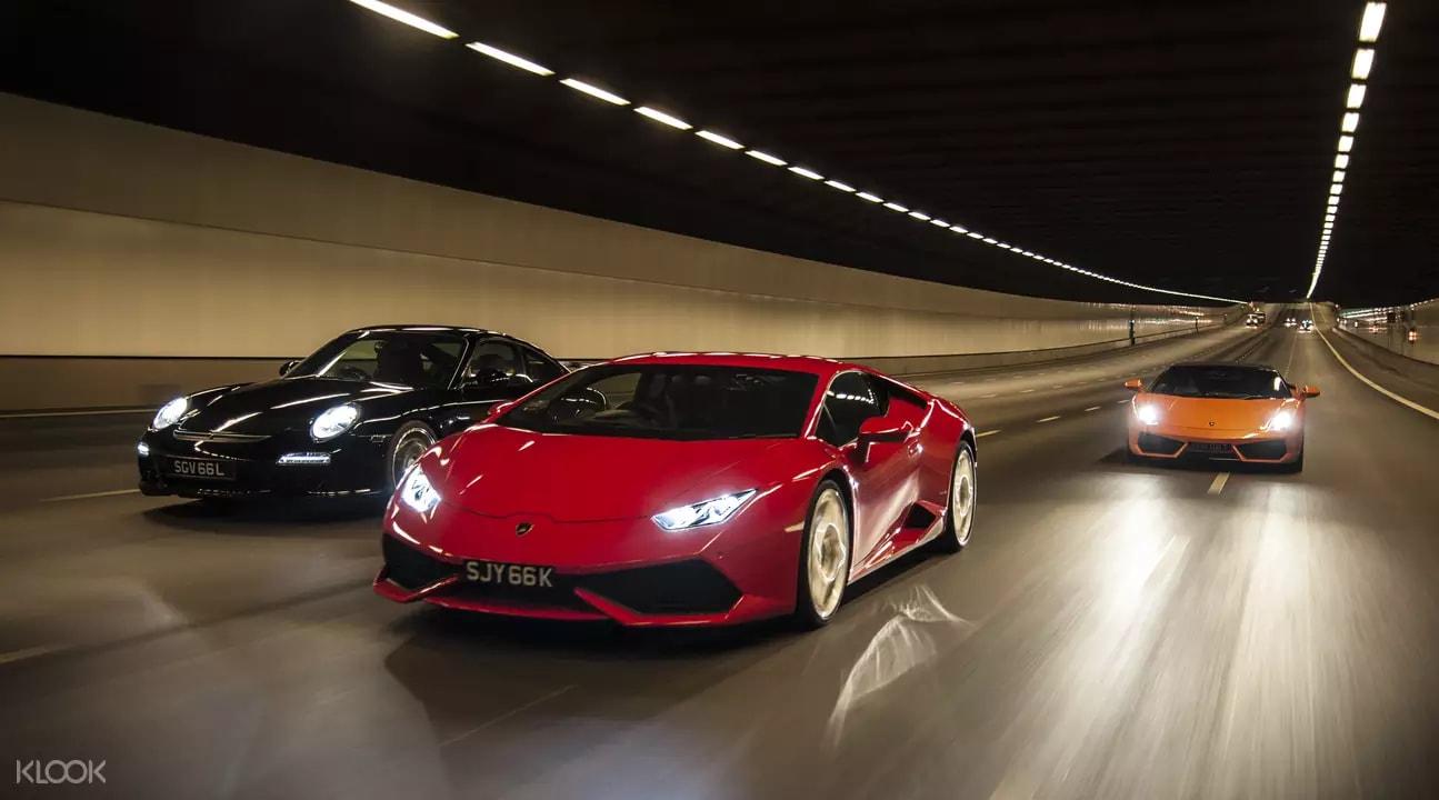 F1 supercars