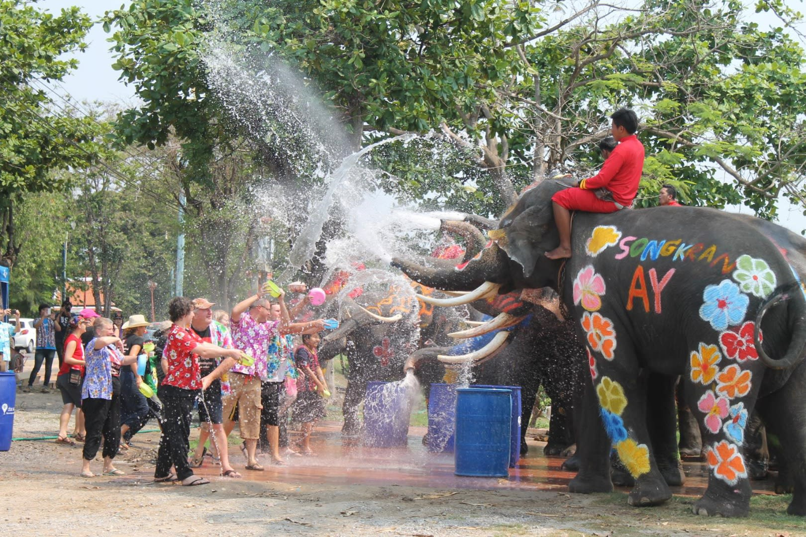 You're Guaranteed A Soaking Good Time at Songkran Festival