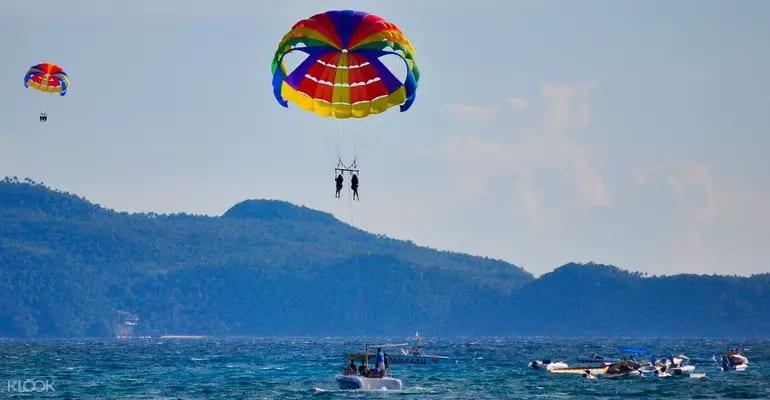 boracay paraglide