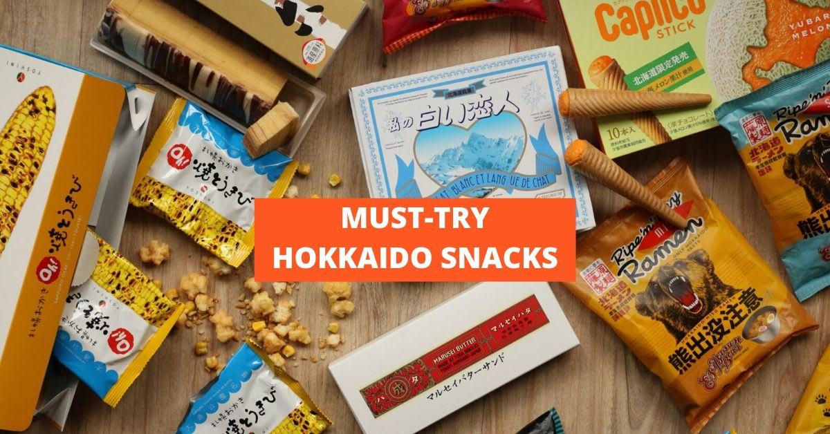 must try hokkaido snacks