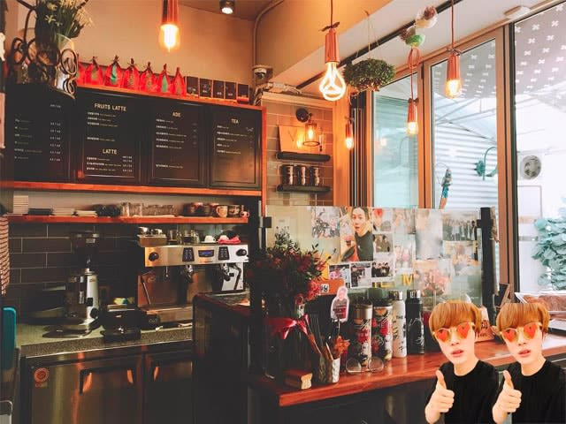 The Min's cafe in Seoul