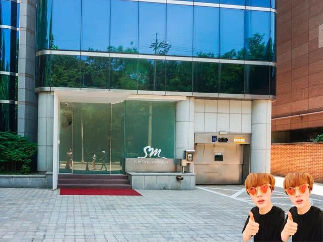 SM building in Seoul
