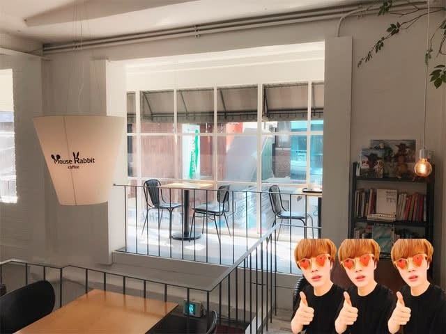 Mouse Rabbit Cafe in Seoul