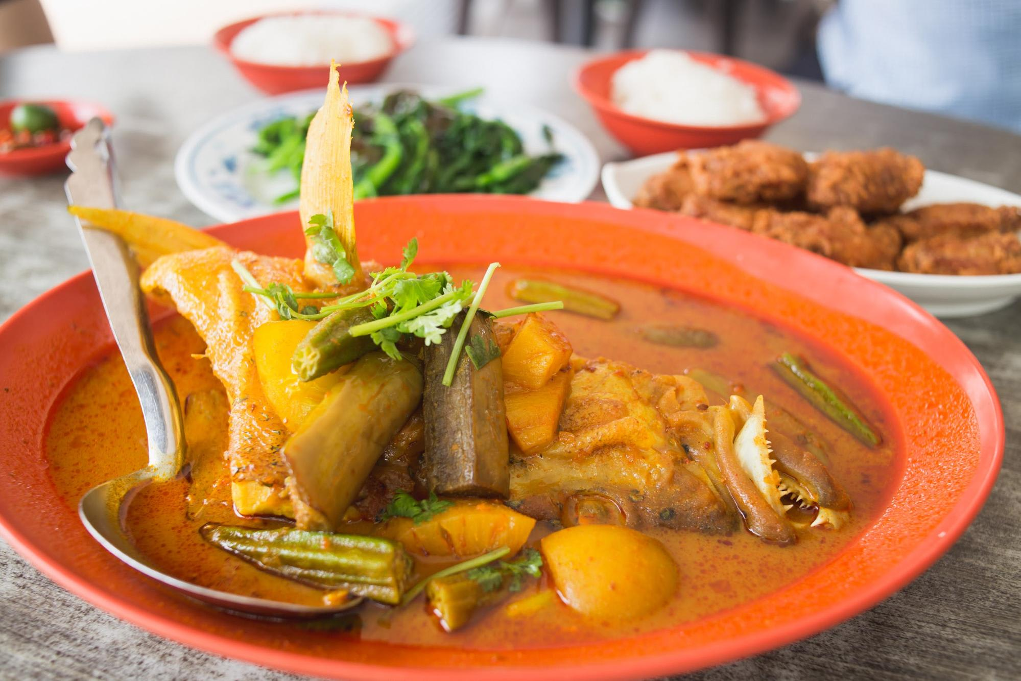 zai shun seafood curry fish head