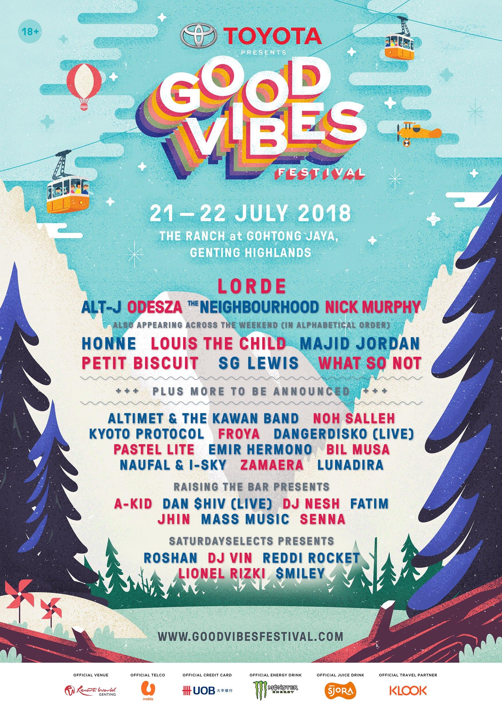 good vibes festival 2018 lineup