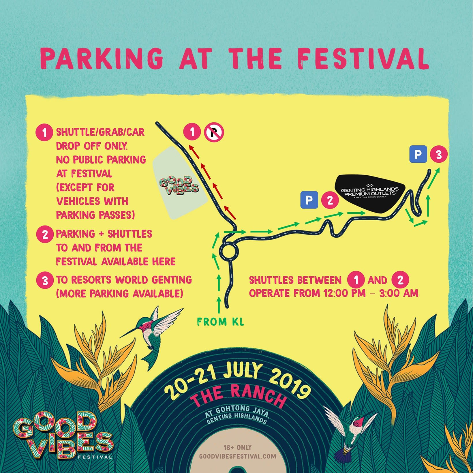 good vibes festival parking