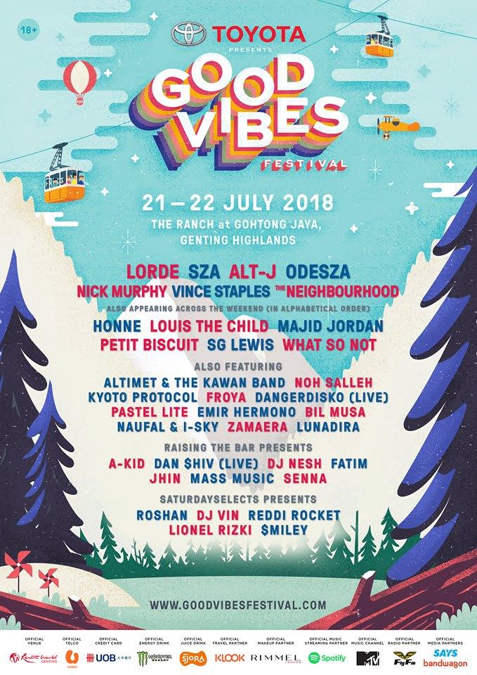 gvf 2018 lineup