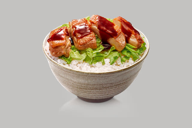 Honey Chicken Rice Bowl