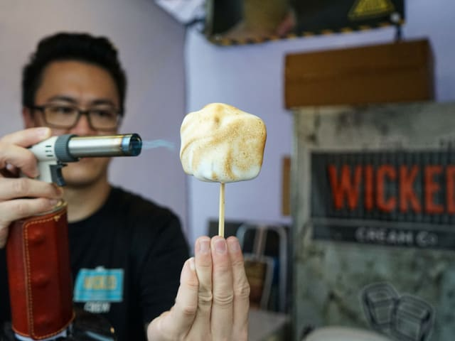 ice cream smore