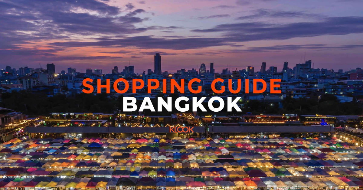 Bangkok Shopping Guide Blog Header