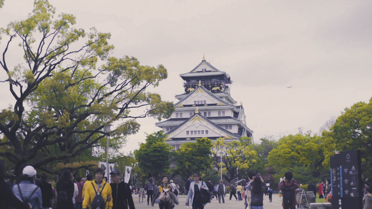 osaka castle japan alex gonzaga