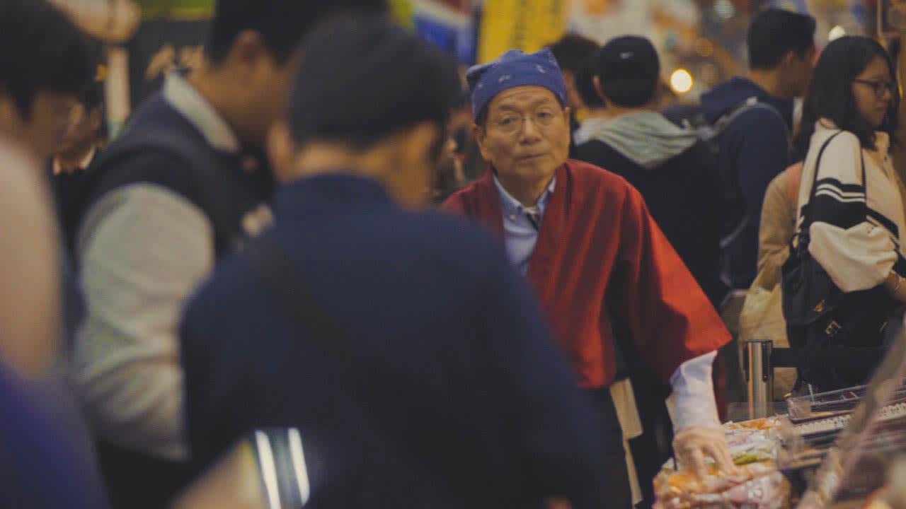 kuromon market osaka japan alex gonzaga