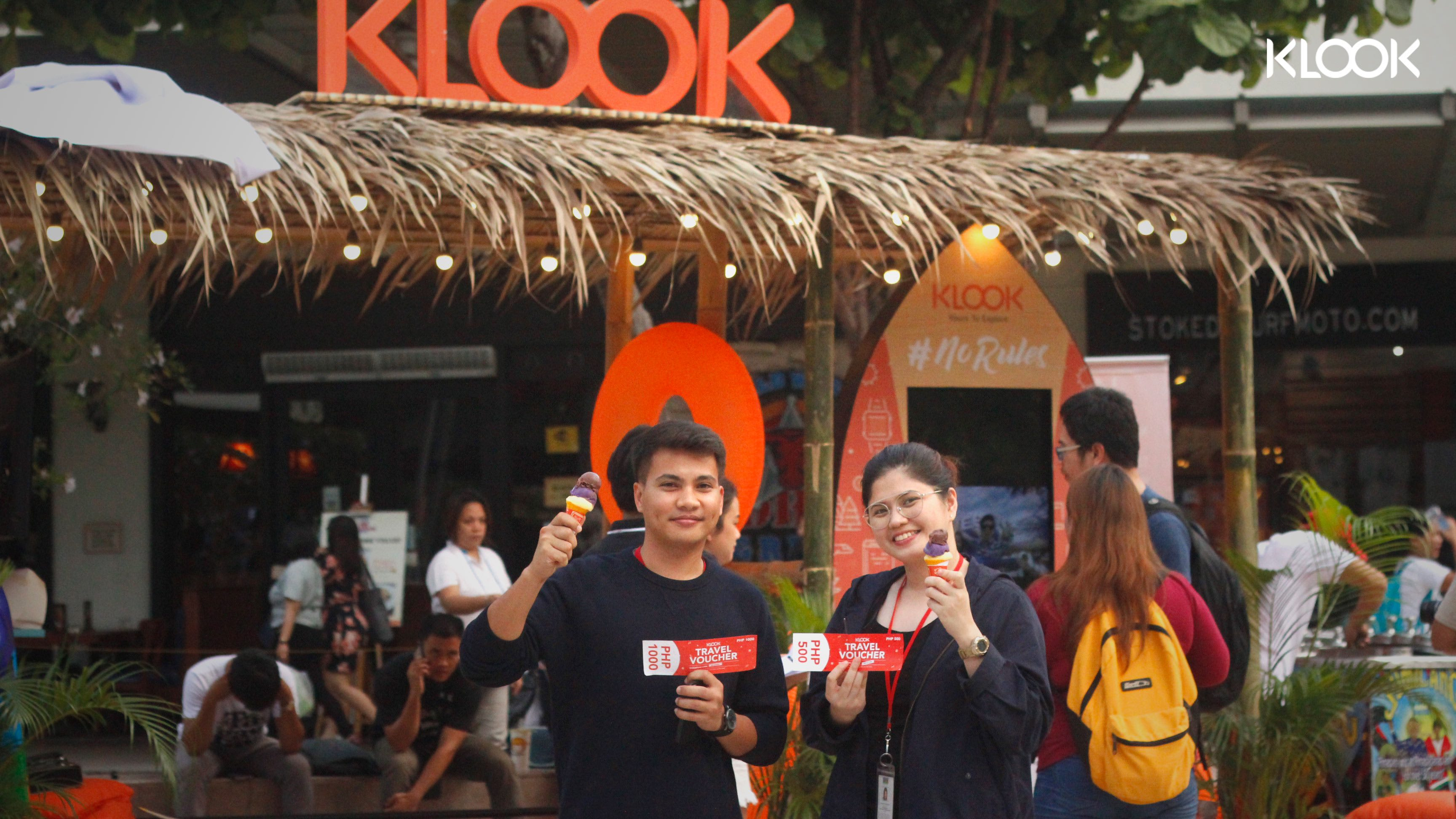 klook beach hut bgc travel vouchers