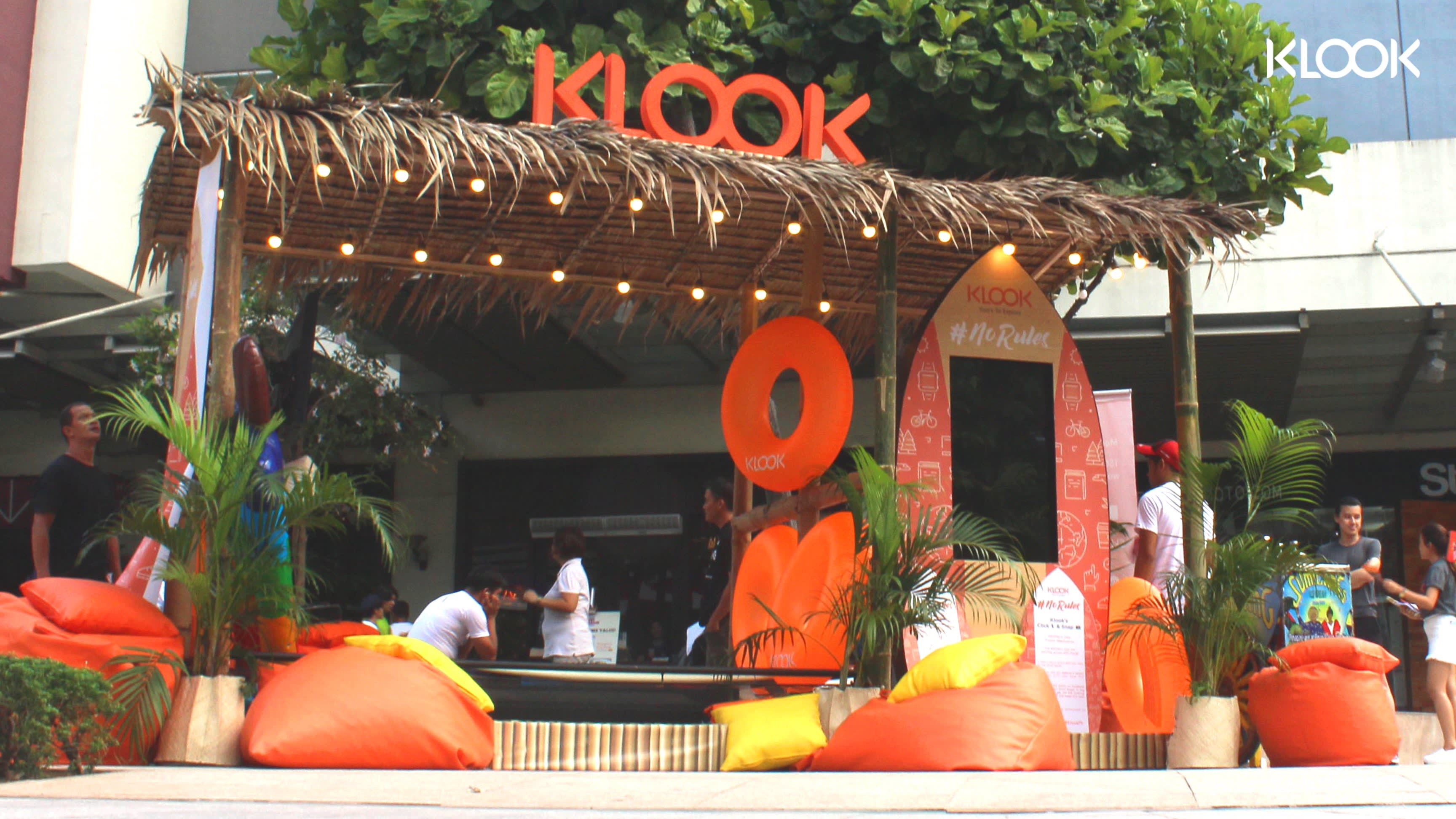 klook beach hut travel vouchers
