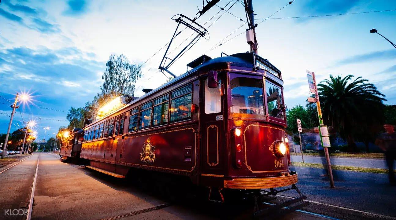 The Colonial Tramcar Restaurant Melbourne Cafes