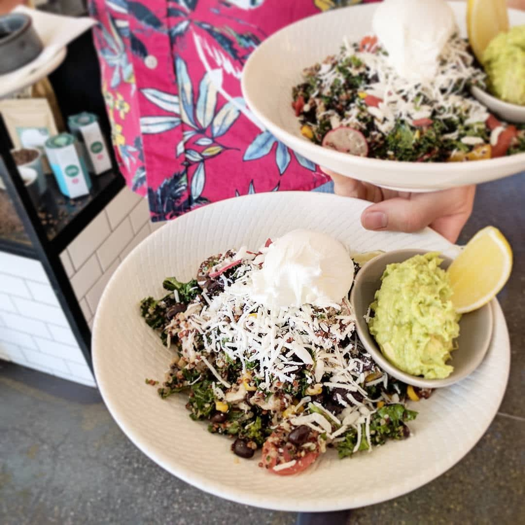 Pillar of Salt Quinoa Salad Melbourne Cafe