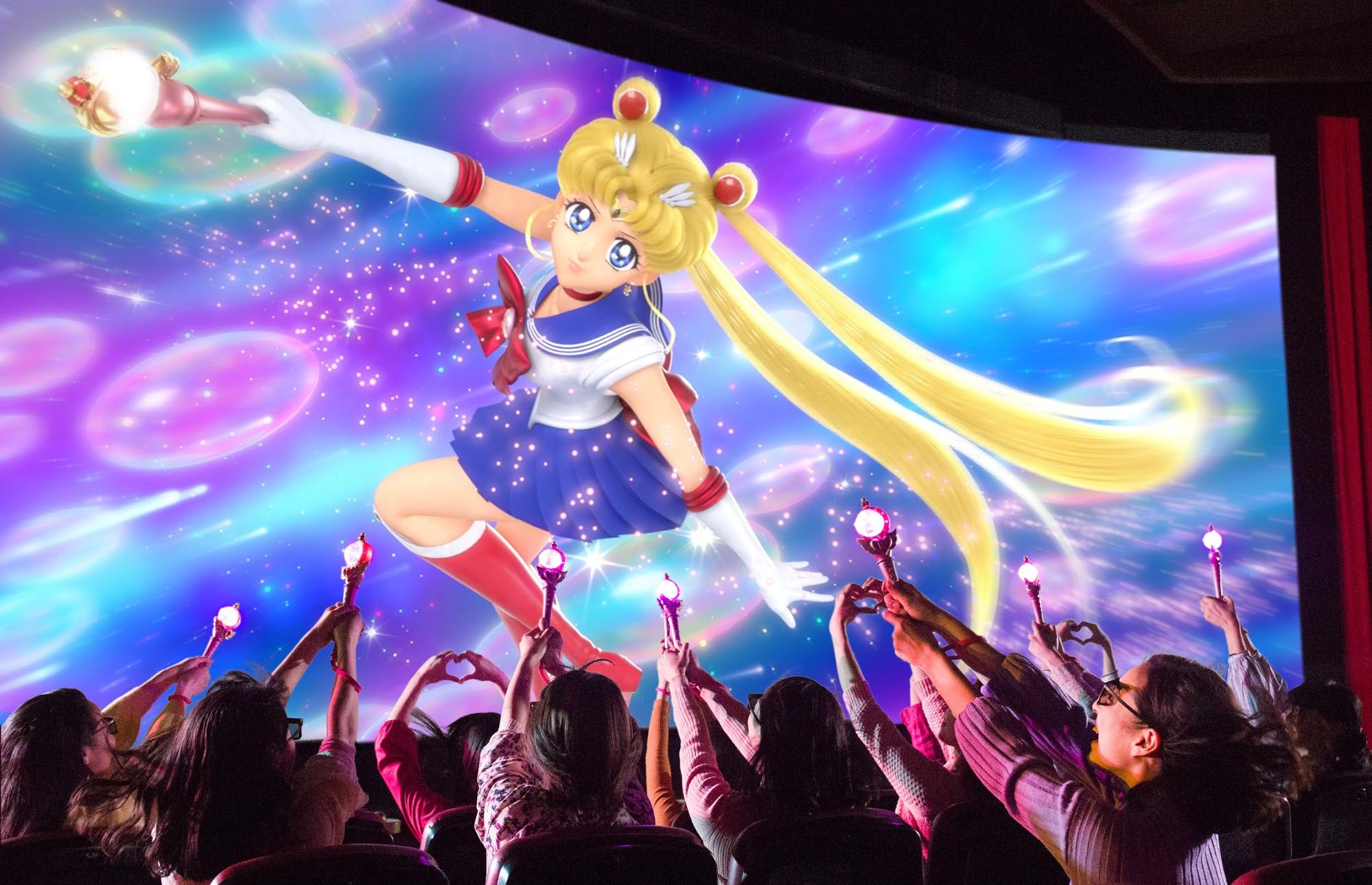 Sailor Moon The Miracle 4D Ride at USJ