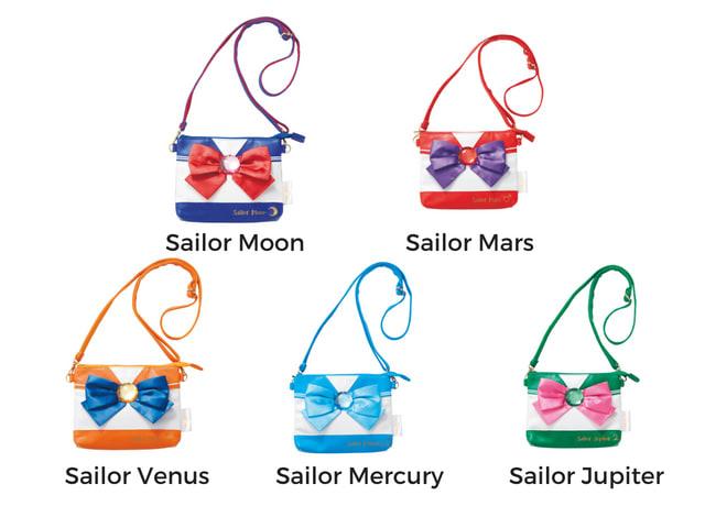 Sailor Moon bags at USJ
