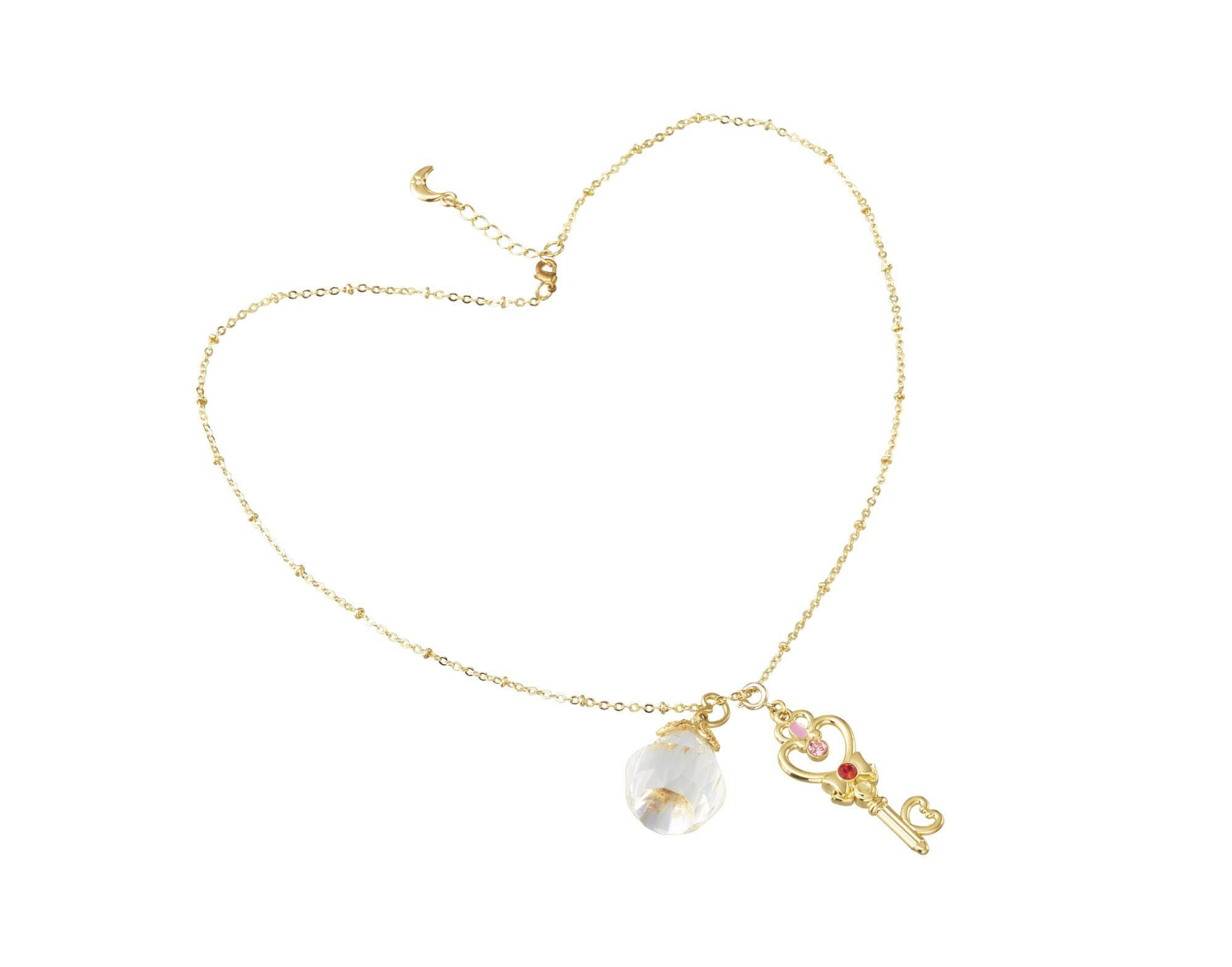 Sailor Moon gold necklace